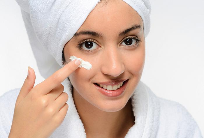 Глицерин на коже лица