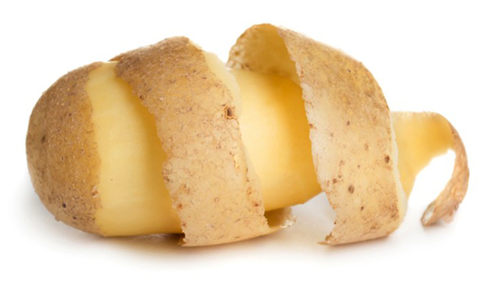 Картошка и кожура