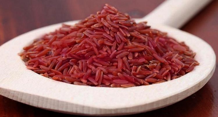 Много красного риса