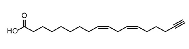 Химическая структура линолевой кислоты