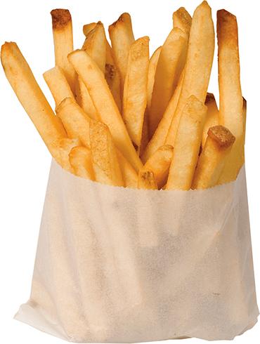 Мешочек с картошкой