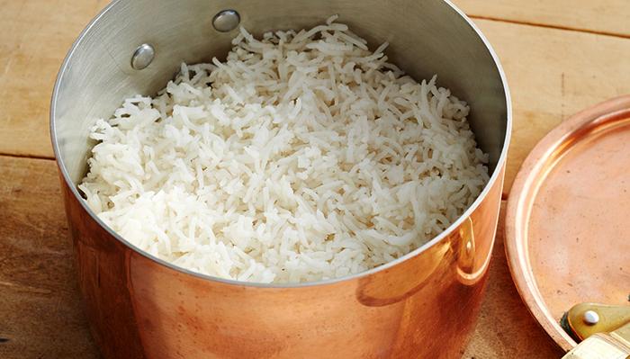 Перед приготовлением риса басмати