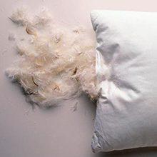 Перьевые подушки: чем вредны и чем полезны
