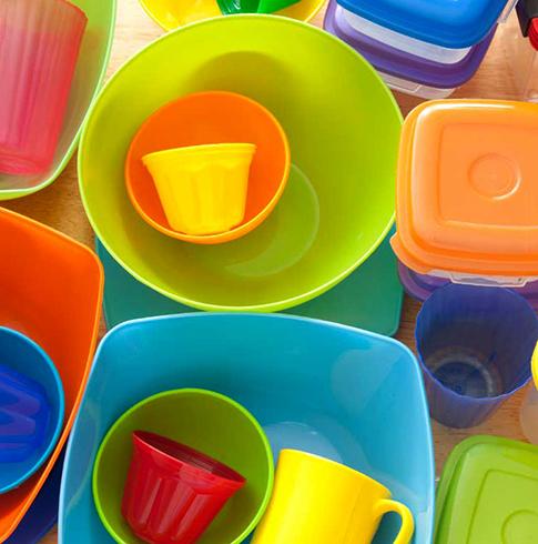 Новая посуда из полипропилена