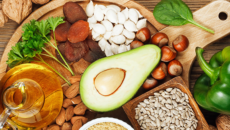 Продукты с высоким содержанием витамина E