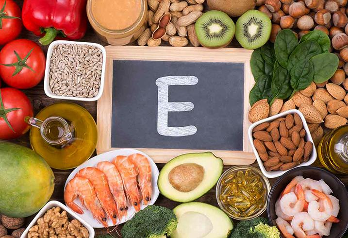 Продукты с витамином E