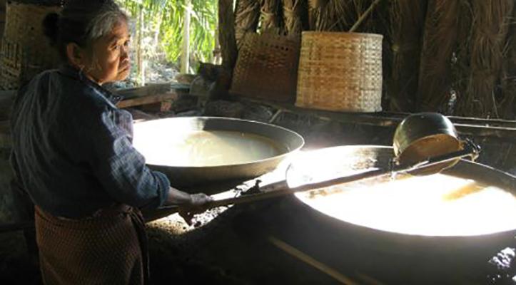 Производство кокосового сахара