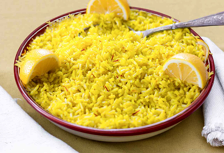 Рис с лимоном