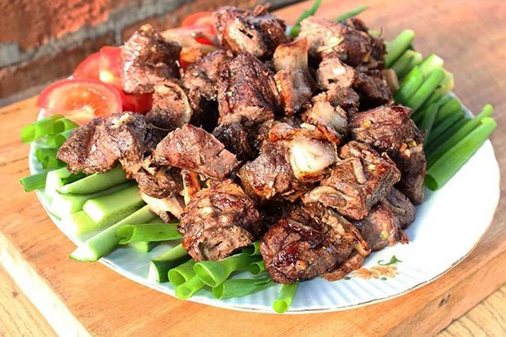 Шашлык из мяса косули