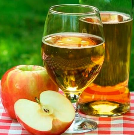 Сидр и яблоки