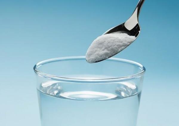 Приготовление раствора соды