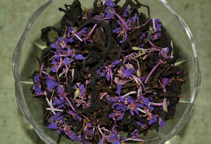 Сушеный капорский чай