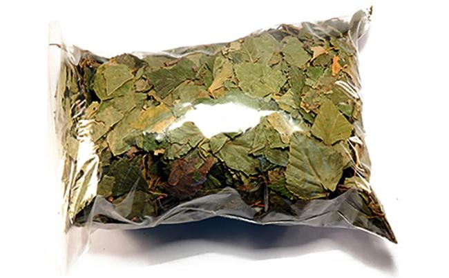Сушенные листья березы
