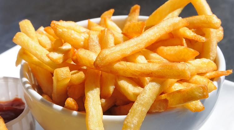 Свежий картофель фри