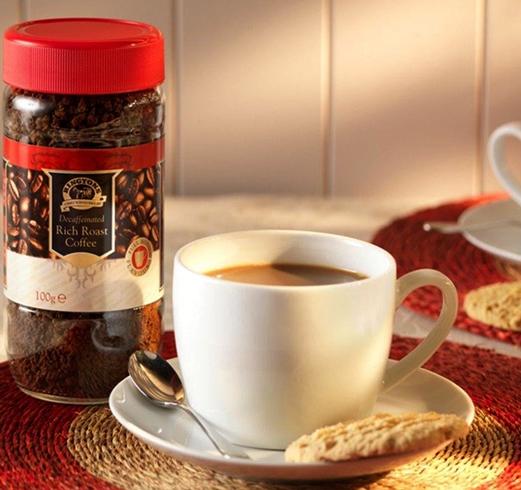 Свежий сублимированный кофе