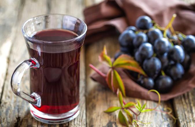 Свежий виноградный сок