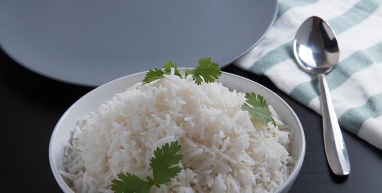 Тарелка с рисом басмати