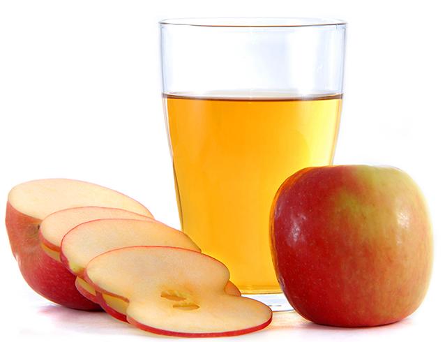Уксус и яблоки