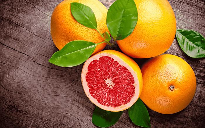Вкусные грейпфруты