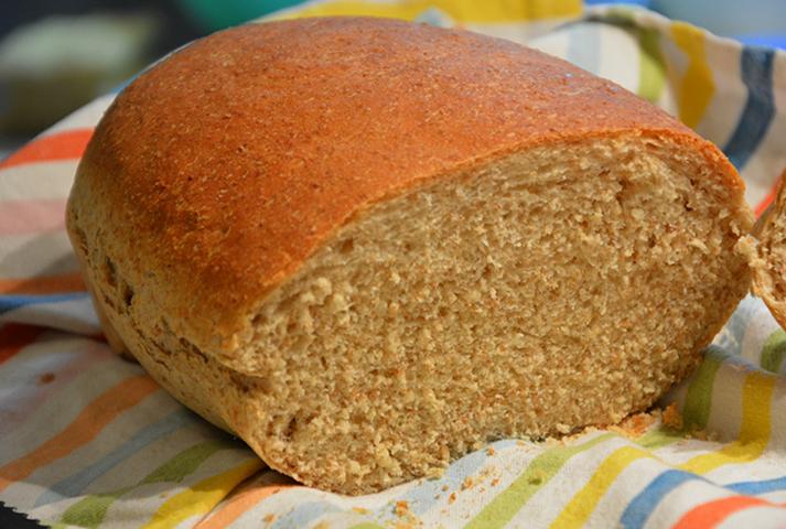 Аппетитный хлеб с отрубями
