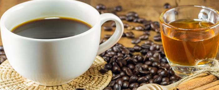 Чаша кофе с медом