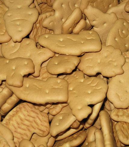 Печенье в виде фигурок