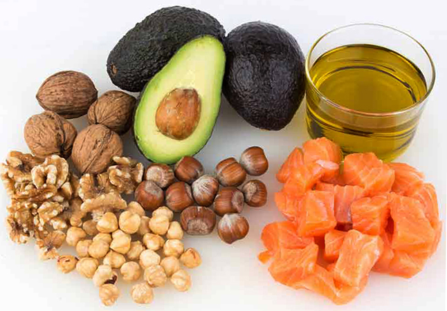 Еда с холестерином