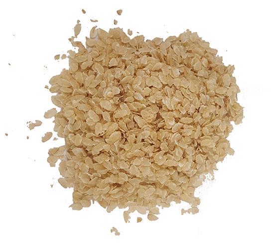 Коричневые рисовые хлопья