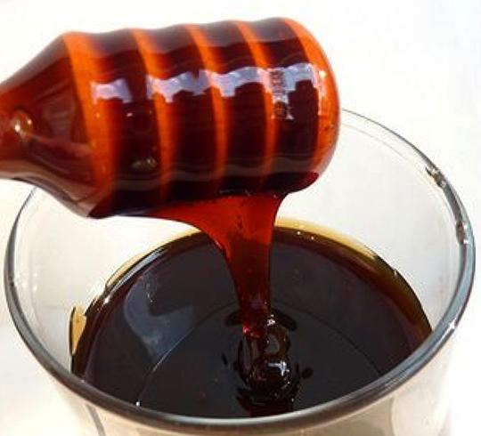 Мед в стакане