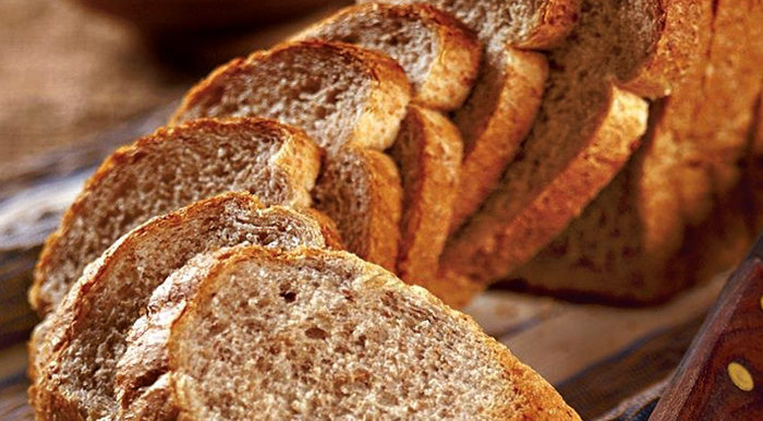 Нарезанный солодовый хлеб