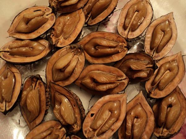 Открытые орехи