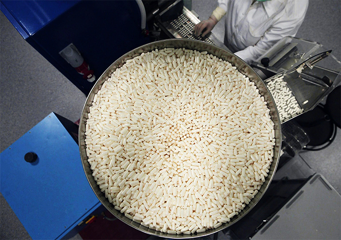 Производство милдроната