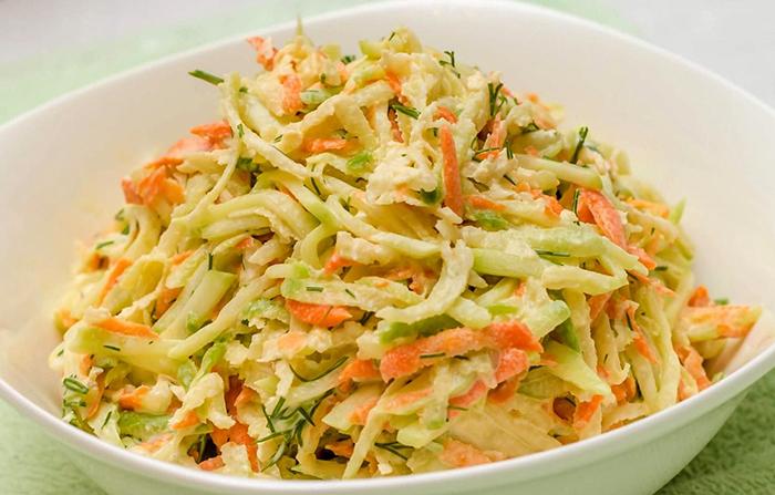 Салат из маргеланской редьки