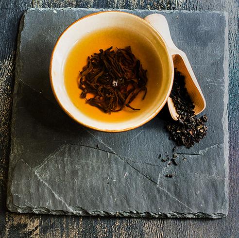 Свежий чай с бергамотом