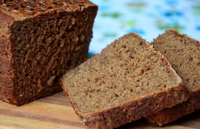 Черный заварной хлеб