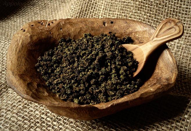 Свежий гранулированный чай