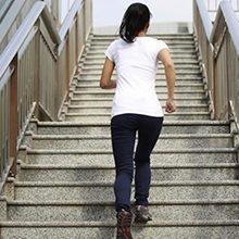 Ходьба по лестнице — польза и возможный вред