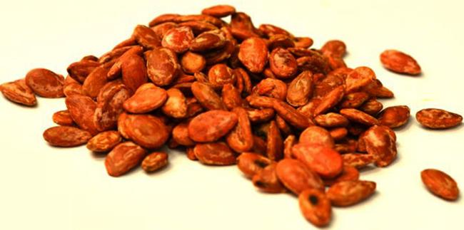 Сушеные и соленые семена