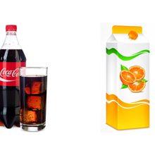 Что вреднее Кока-кола или магазинный сок?