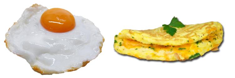Яичница и омлет