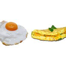Что более полезно яичница или омлет