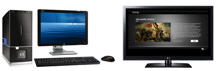 Компьютер и телевизор