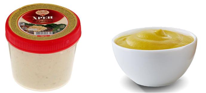 Хрен и горчица