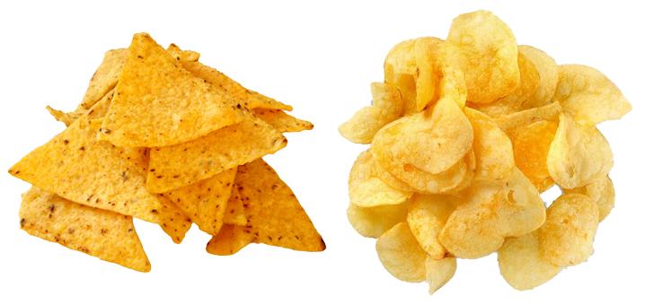 Начос и чипсы