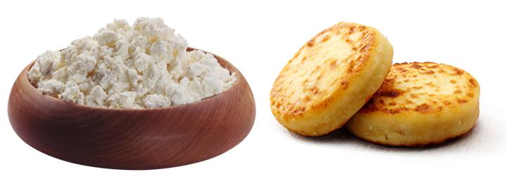 Творог и сырники