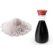 Что более полезно соль или соевый соус