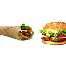 Что вреднее кушать шаурму или бургеры?