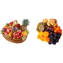 Что более полезно фрукты или сухофрукты?