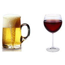 Что вреднее для человека пиво или вино