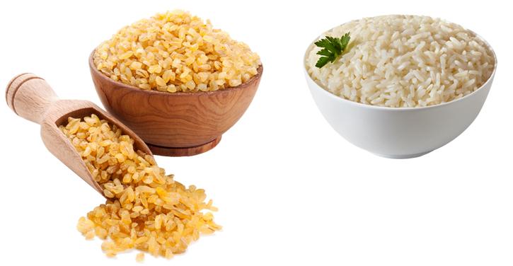 Булгур и рис